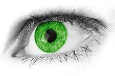 تغییر رنگ چشم با ذهن