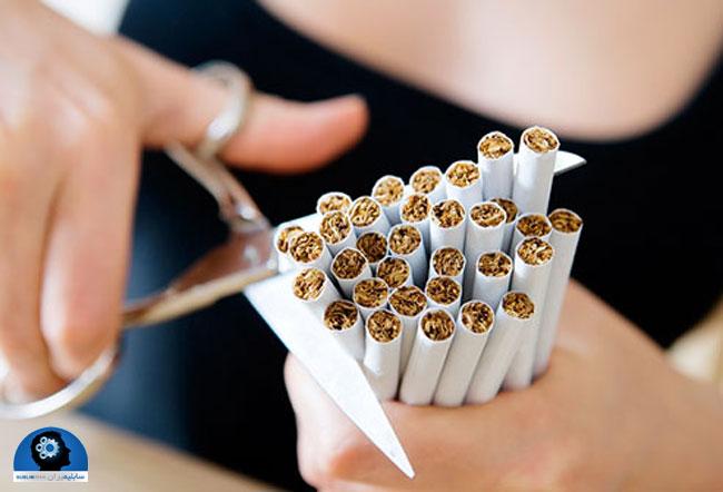 خوراکی برای ترک سیگار