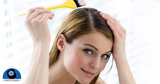 روشن کردن مو طبیعی