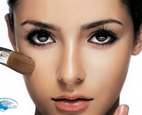 درشت شدن چشم بدون آرایش
